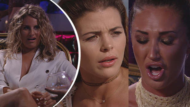 TOWIE: Danielle, Chloe and Megan from Series 18, Episode 1