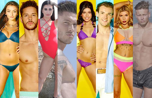 Love Island 2016 finalists: Kady, Scott, Katie, Adam, Cara, Nathan, Olivia and Alex