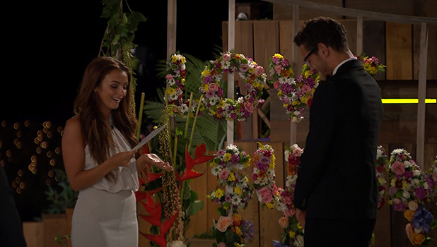 Love Island Final: Kady and Scott give speeches to each other, 10 July 2016