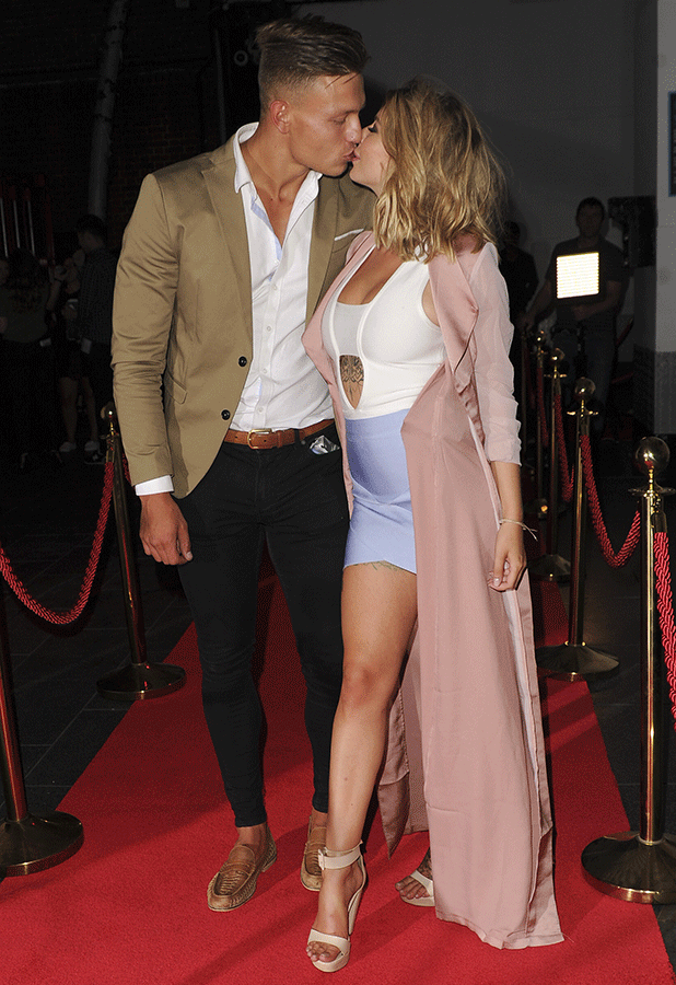 Love Island Wrap Party: Olivia Buckland and Alex Bowen 14 July 2016