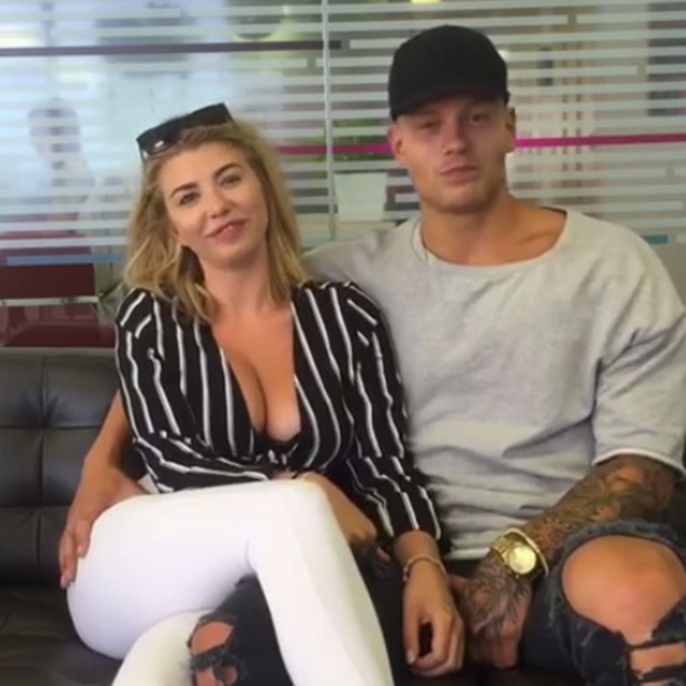 Love Island's Alex Bowen and Olivia Buckland do a Facebook Q&A 13 July 2016