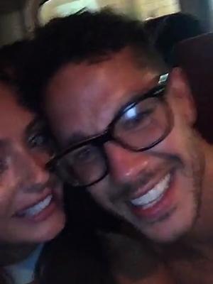 Love Island Final 2016: Kady and Scott celebrate afterwards