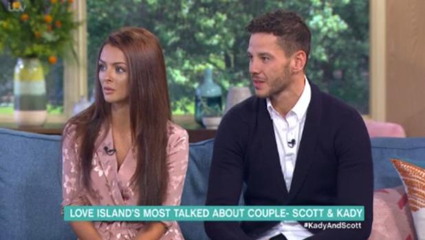 Love Island's Kady McDermott and Scott Thomas on This Morning 14 July 2016