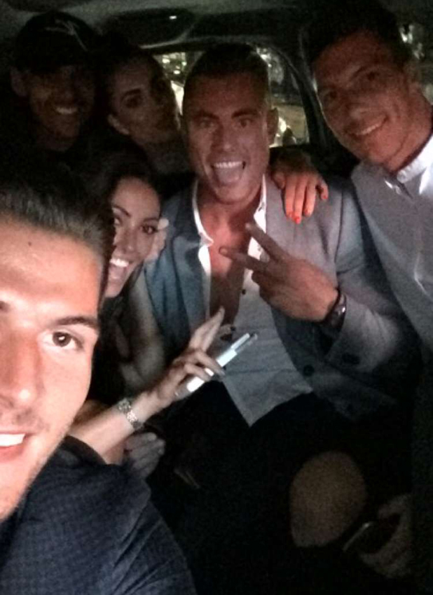 Love Island: Tom shares photo of islanders in car after wrap party 14 July 2016