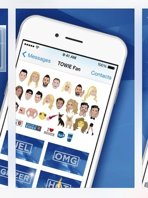 TOWIE releases TOWIEmojis - 24 July 2016