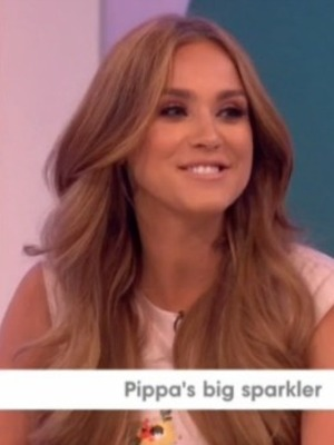 Vicky Pattison on Loose Women, 20 July 2016 Panel discussion: Pippa Middleton's engagement