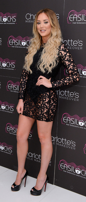 Geordie Shore's Charlotte Crosby attends the Easilocks launch party in London, 20th July 2016