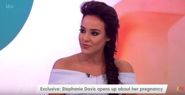 Stephanie Davis discusses pregnancy on Loose Women, ITV 19 July