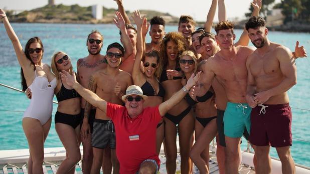 Coach Trip, Brendan and the pairs, Mon 25 Jul