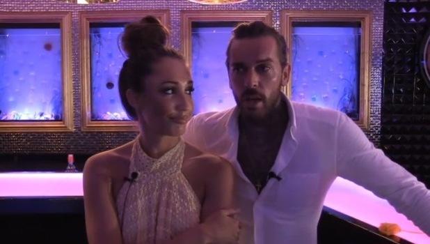 Pete Wicks and Megan McKenna discuss Chloe Lewis, TOWIE 18 July