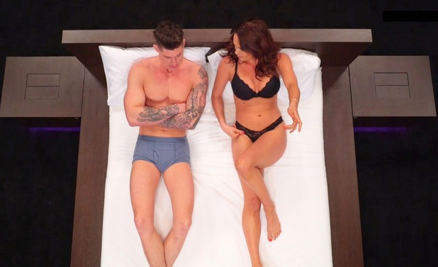 Lauren and Sam as they appeared on the reality show Undressed