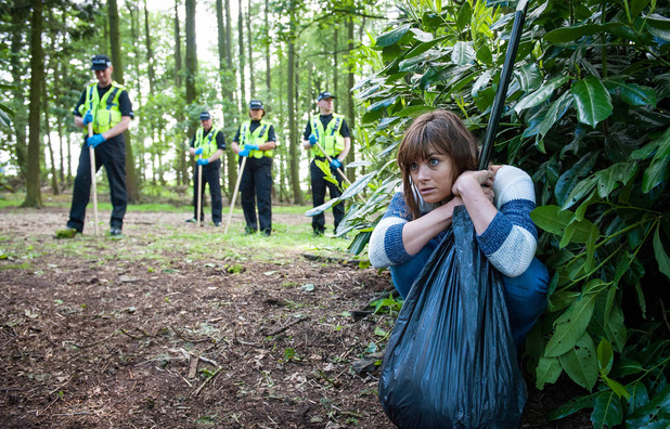 Emmerdale, Chrissie hides from the police, Wed 27 Jul