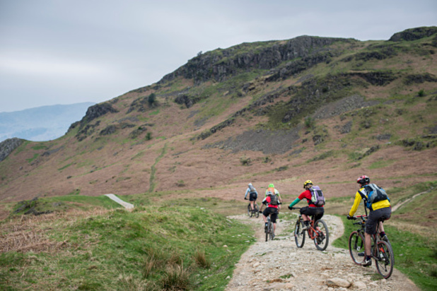 Cycling in the Lake District is a very popular activity
