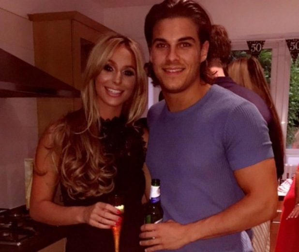 Amber Dowding and Chris Clark, TOWIE