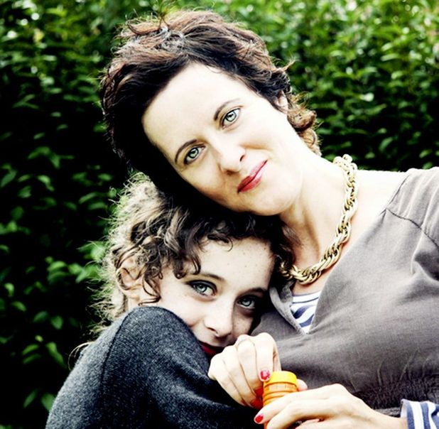 Anne-Marie Cockburn with her daughter Martha, aged 11