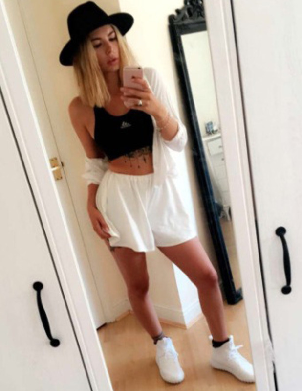 Love Island's Olivia Buckland takes to Instagram and Twitter to show off her outfit of the day (OOTD), 19th July 2016