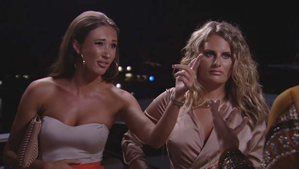 TOWIE Series 18, Episode 2 Megan McKenna confronts Lydia Bright and Chloe Lewis To air 20 July 2016