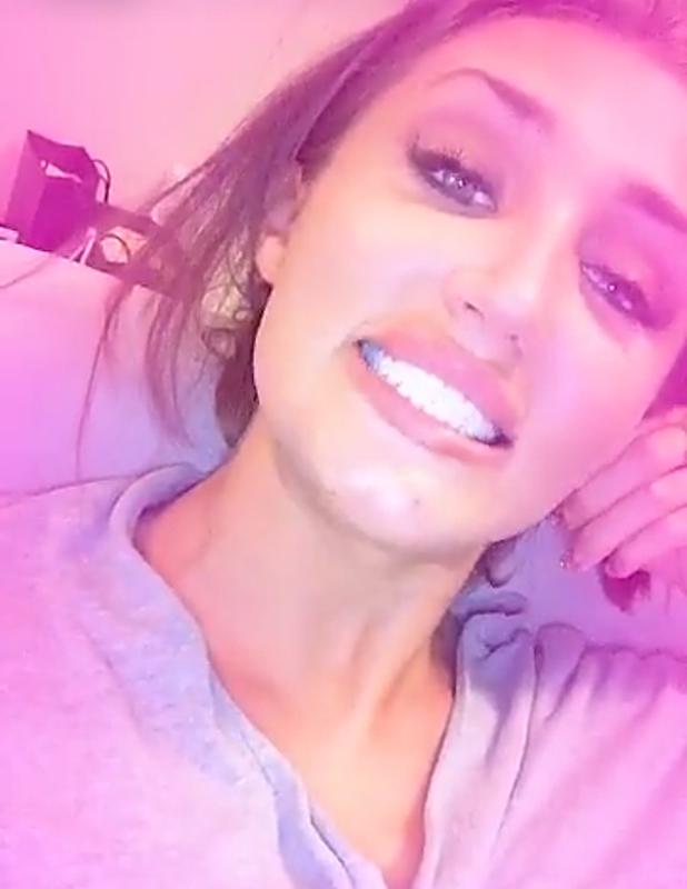 TOWIE's Megan McKenna shows off new teeth veneers, 18 July 2016