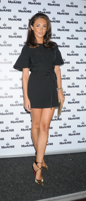TOWIE's Megan McKenna at the Mark Hill hair Pick 'N' Mix launch, London, 27th July 2016