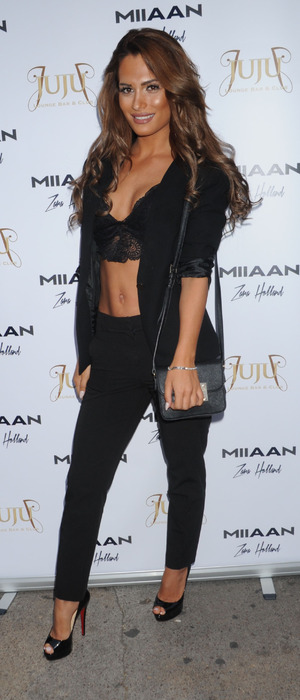 TOWIE's Nicole Bass at the Zara Holland x Miiaan clothing launch in London 26th July 2016