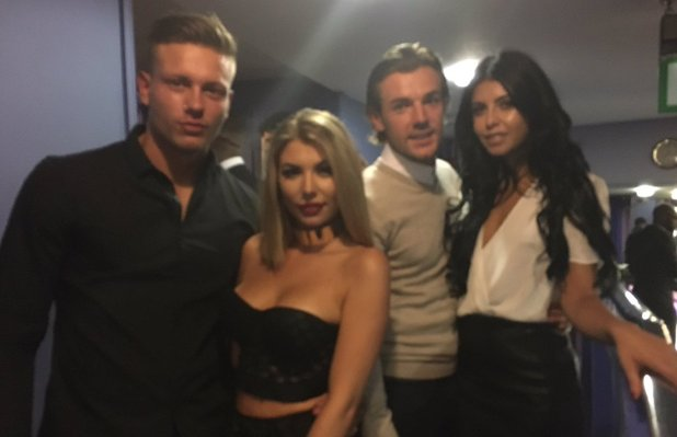 Love Island stars attend premiere for The Intent - 25 July 2016