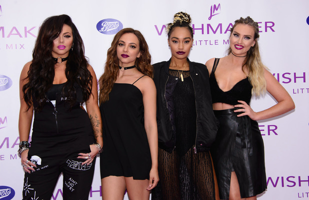 Little Mix launch their newest fragrance, Wishmaker at Lakeside in Essex, 28th July 2016