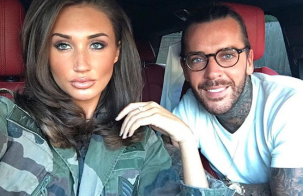 Megan McKenna poses alongside Pete Wicks for selfie, Instagram, 26th July 2016
