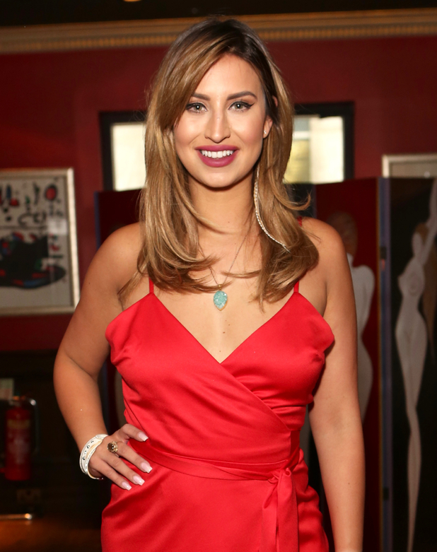 Ferne McCann celebrates Ferne's Food Blog's first year anniversary, Havana Club at Boisdale, Canary Wharf 29 June
