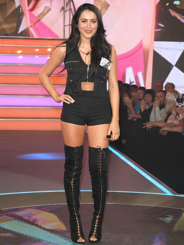 Marnie Simpson enters the Celebrity Big Brother house 28 July
