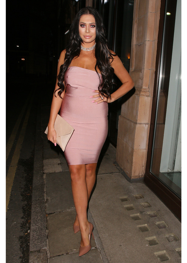 Geordie Shore star Chloe Ferry at the Mark Hill Hair Pick 'N' Mix Launch event in London, 27th July 2016