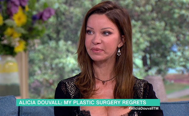 Alicia Douvall on This Morning 28 July 2016