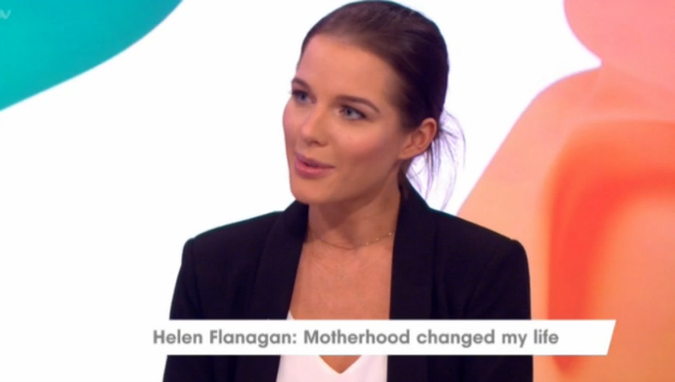 Helen Flanagan's daughter Matilda on Loose Women 27 July 2016