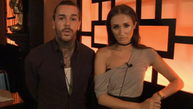 TOWIE's Megan McKenna and Pete Wicks talk to TOWIE website 24 July 2016