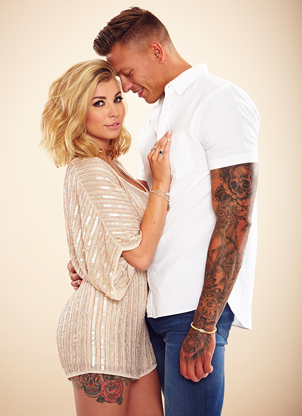 Love Island's Alex Bowen and Olivia Buckland in exclusive Reveal shoot July 2016
