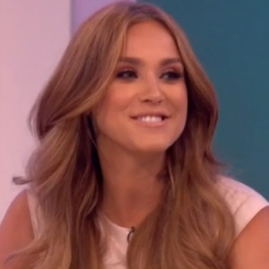 Vicky Pattison and Alex Cannon on Loose Women 27 July 2016