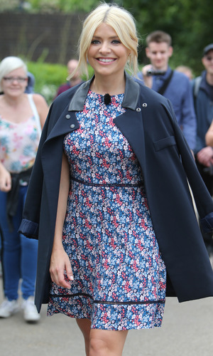 Holly Willoughby filming outside ITV Studios, London 15 July