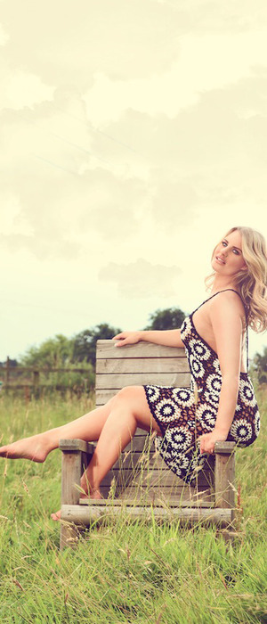 TOWIE star Dannielle Armstrong announces style collaboration with Miiaan, crochet patchwork dress, £28, 2nd August