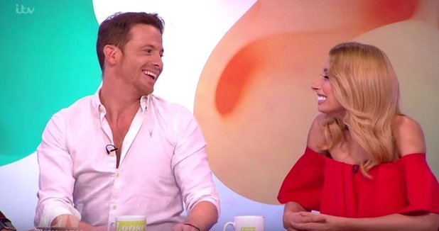 Joe Swash and Stacey Solomon, Loose Women 1 August