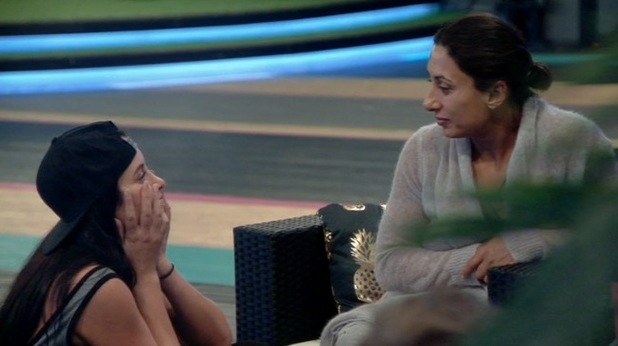 Marnie Simpson and Saira Khan, Celebrity Big Brother 31 July