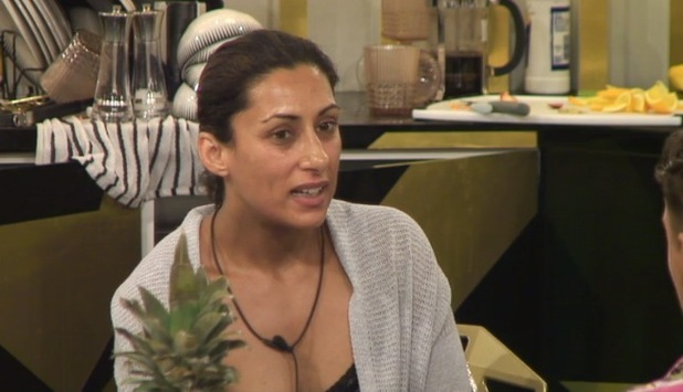 CBB: Saira Khan clashes with Heavy D, Lewis Bloor and Stephen Bear 31 July