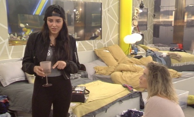 Celebrity Big Brother: Saira Khan and Marnie Simpson clash 31 July
