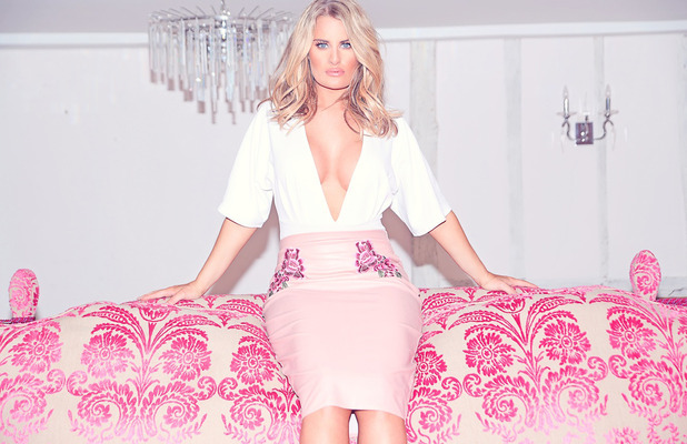 TOWIE star Danielle Armstrong launches clothing collection with Miiaan, leatherette dress, £22, 1st August 2016