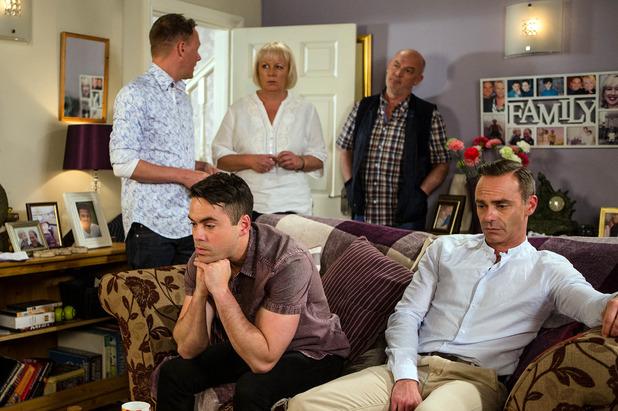 Corrie, Sean makes Eileen choose, Fri 5 Aug
