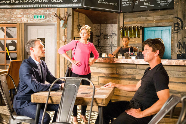 Corrie, Leanne makes Nick and Robert call a truce, Wed 9 Aug