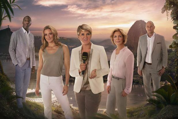 Rio 2016 Clare Balding, Gabby Logan, Michael Johnson, Hazel Irving, Steve Redgrave, Fri 5 Aug