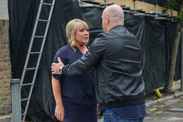 EastEnders, Grant talks to Sharon, Mon 8 Aug