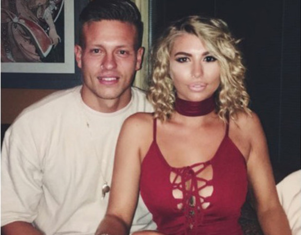 Love Island star Olivia Buckland poses for picture alongside boyfriend Alex Bowen on night out in Essex, ins August 2016