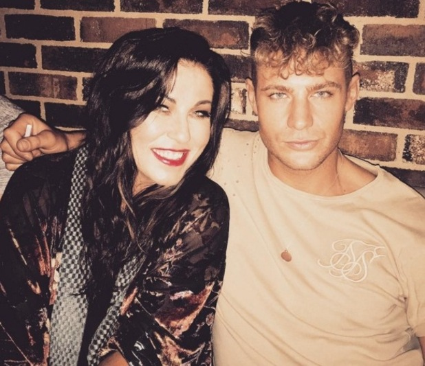 Scotty T and EastEnders' star Jesse Wallace 4 August