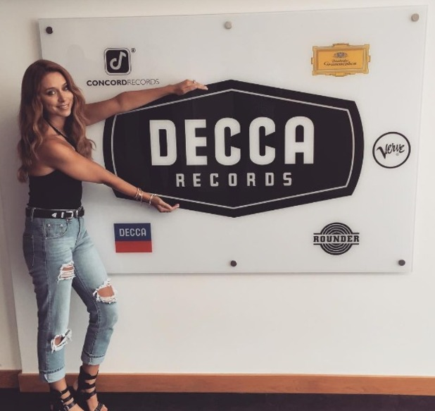 Una Foden announces record deal with Decca, 5 August 2016