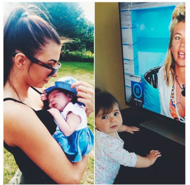 Love Island's Olivia Buckland shares throwback picture of her with brown hair, Instagram, Essex, 31st July 2016